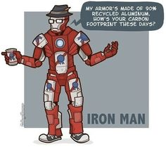 Hipster Ironman XD