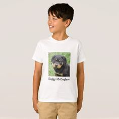 #Doggy McDogface Rottweiler Puppy T-Shirt - #rottweiler #puppy #rottweilers #dog #dogs #pet #pets #cute