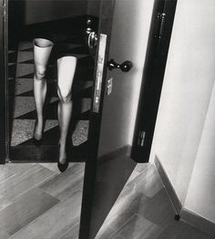 Legs Coming Home by Helmut Newton