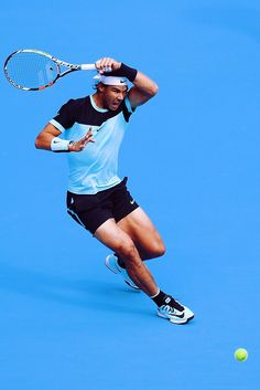 Rafa Nadal - also love all his recent changes and improvements to his game..