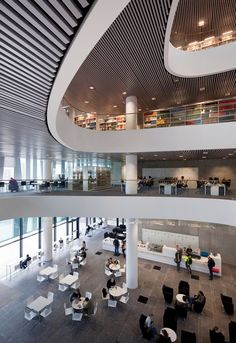 University of Aberdeen New Library | schmidt hammer lassen architects | Archinect