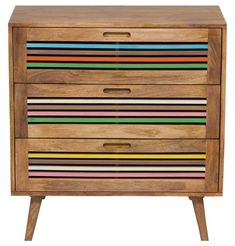 Tarina Chest of Drawers - Timber - Matt Blatt Wood Drawers, Chest Of Drawers, Furniture Removalists, Earthy Home Decor, Things To Come, Nursery, London, Decorating, Bedroom