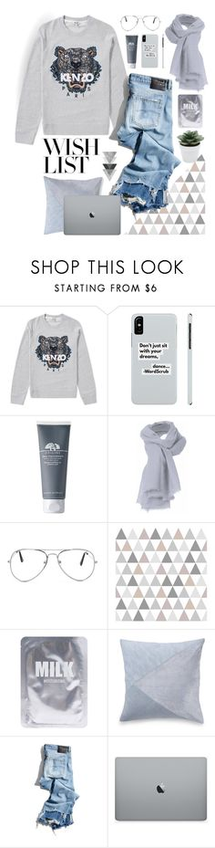 """""""#PolyPresents: Wish List"""" by genovevajc ❤ liked on Polyvore featuring Kenzo, Nasty Gal, Lapcos, Nordstrom Rack, R13, M&Co, contestentry and polyPresents"""