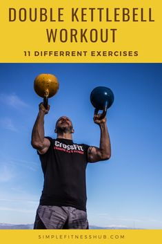 Double kettlebell style workouts put a lot of tension on your muscles. Here are 12 of the best workout techniques to properly gain as much strength as you can. Kettlebell Cardio, Kettlebell Training, Training Programs, Workout Programs, Bum Workout, Boxing Workout, Workout Plan For Men, Home Exercise Program, Weight Training