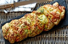 Squash, Bread Bun, Bread Baking, Baked Potato, Tapas, Zucchini, Cabbage, Brunch, Cooking Recipes