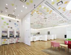Sugamo Shinkin Bank Шимура филиал, Токио, 2011 - emmanuelle moureaux architecture + design