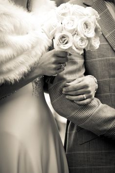 How about your groom in plaid? I love that!