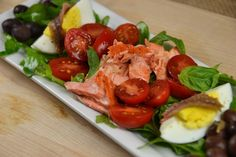 Copper River Salmon Salad for One