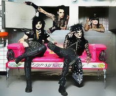 BLACK VEIL BRIDES, but where's Jake?