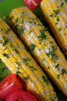 love grilled corn