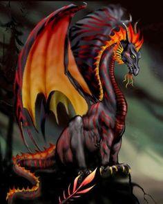 Heroes 3 Black Dragon ~ by Artja