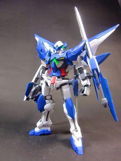 Custom Build: 1/144 Gundam Amazing Exia Seven Swords - Gundam Kits Collection News and Reviews