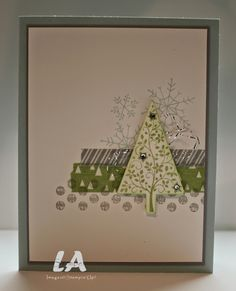 LA Stamper, Stampin' Up!: Simple Card Christmas