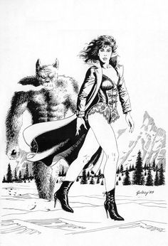 Pencil, unpublished art, © 1989 Paul Gulacy http://twomorrows.com/comicbookartist/articles/07gulacy.html