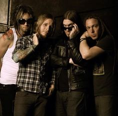 Shinedown, kinda scary looking but good band for some songs! Really good