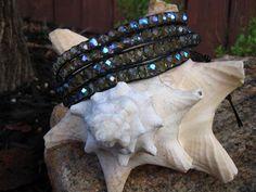 Black Magic wrap bracelet  www.facebook.com/simplylinked