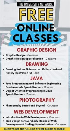 Learn New Skills For FREE! - Online Classes Want to acquire new skills to boost your resume without having to pay hundreds of dollars? Here's a handpicked list of free online courses to help you learn and save money! Free Courses, Online Courses, Free Coding Courses, Free College Courses Online, Life Hacks Websites, Affiliate Marketing, Online Marketing, Vie Motivation, Free Education