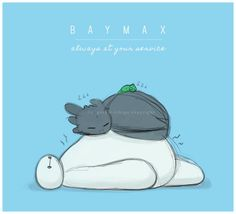 Baymax, Toothless, and Pascal! <3