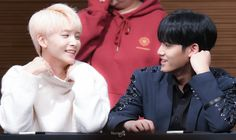Jeonghan and Mingyu