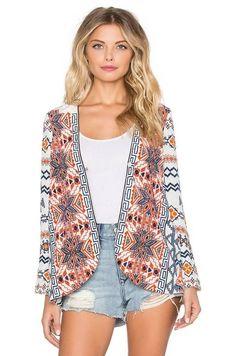 Kimono Estampado Hippie Chic - Compre Online