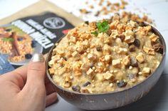 Fahéjas-almás zabkása - NAGYON JÓ Quinoa, Oatmeal, Vegan, Free, Breakfast, Instagram, The Oatmeal, Morning Coffee, Rolled Oats