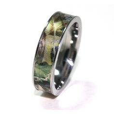 Camo Rings,Camo Wedding Rings,Camo Jewelry,Mossy Oak Rings,Realtree Rings,Mossy Oak Wedding Rings,Realtree Rings found on Polyvore