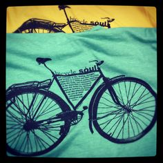"""Bicycle Soul"" Urban Octopus Tee"