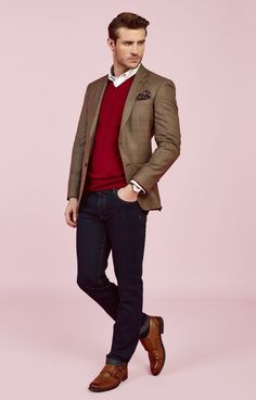 Amazing And Cozy Casual Business Outfit For Men 40