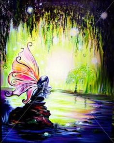Fairy Sweet Dreams -Painting with a Twist