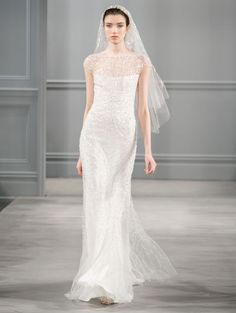 From City Hall to the Altar... Monique Lhuillier Spring 2014 | OneWed