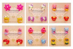 Cute 12 Pairs Lot of Kids Plastic Soft Post Stud Children's Earrings Girls Women #Stud