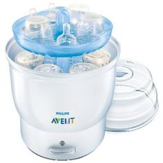 Philips AVENT BPA Free Electric Steam Sterilizer, White (Baby Product)