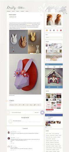 thedustyattic dot net Blogging, Web Design, Dots, Paper, Stitches, Design Web, Website Designs, Site Design
