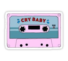 Cry Baby Melanie Martinez Cassette Tumblr Aesthetic Sticker