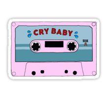 Cry Baby Melanie Martinez Cassette Tumblr Aesthetic Sticker