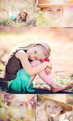 Little girl poses :)
