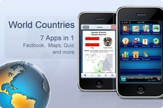World Countries App - This awesome app allows you to step into another country and learn more about where your sponsored child lives with fun facts and quizzes.