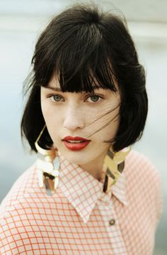 Hairstyles With Bangs: 8 Looks That Make the Cut Hairstyles With Bangs, Pretty Hairstyles, French Hairstyles, Style Hairstyle, Hairstyle Ideas, Hair Day, Your Hair, Medium Hair Styles, Short Hair Styles