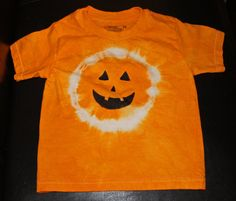 tye dye pumpkin shirt