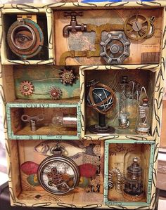 boozy bear: SanDee & Amelie's Steamppunk Challenges - July 2014 - inventions and inventors