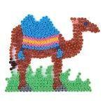 Midi perleplade, kamel
