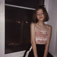 Aesthetic Girl, Beautiful Anime Girl, Tumblr Girls, Kawaii Fashion, Night Vibes, Cute Girls, Candid, Body Art, Strawberry