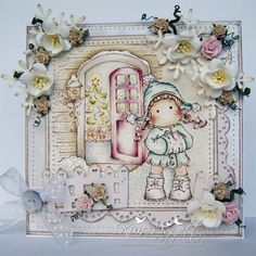 Magnolia Cards by Kim Piggott: Home for Christmas......