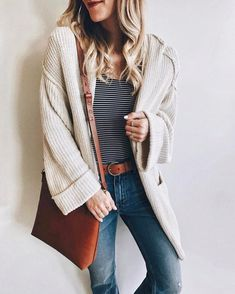 Olivia • LivvyLand  Casual, cozy layers for today's OOTD!