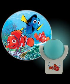 Loving this Finding Nemo Projectables® LED Night-Light on #zulily! #zulilyfinds