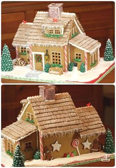 Seven Ways To Build A Gingerbread House Graham Crackers - Gingerbread house garage