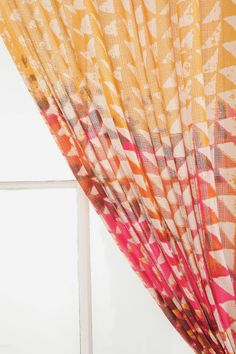 Magical Thinking Swaying Triangle Curtain $39