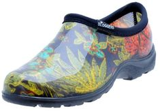"""Sloggers Women's Rain and Garden Shoe with """"All-Day-Comfort"""" Insole, Midsummer Black Print - Wo's size 9 - Style : Waterproof Shoes : Patio, Lawn & Garden Gardening Gifts For Mom, Gardening Shoes, Organic Gardening, Gardening Tips, Best Waterproof Shoes, Garden Boots, Rain Garden, Rain Shoes, Cat Lover"""