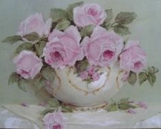Ready to Frame Print - Simply Pink Roses - Postage is included Australia Wide