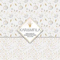 Wedding Patterns by Karamfila on @creativemarket